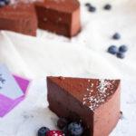 Probeer nu deze heerlijke valentijntaart met intense chocolade smaak en AIP optie. (AIP, Paleo, Glutenvrij, Lactosevrij)