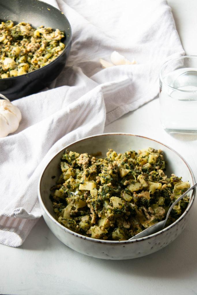 Gehakt met Zoete Aardappel, glutenvrij, lekker en fijn recept voor batchcooking (AIP, Paleo)