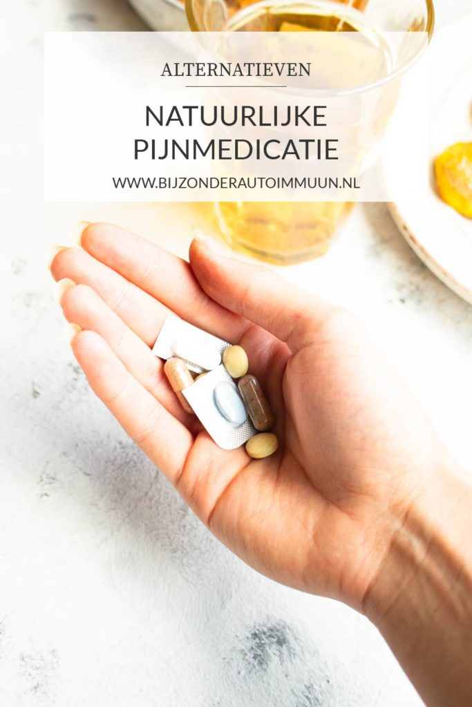 Natuurlijke Pijnmedicatie: een aantal opties op een rijtje