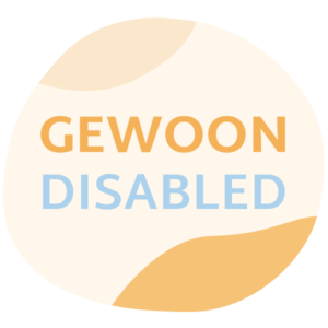 Gewoon Disabled Podcast logo
